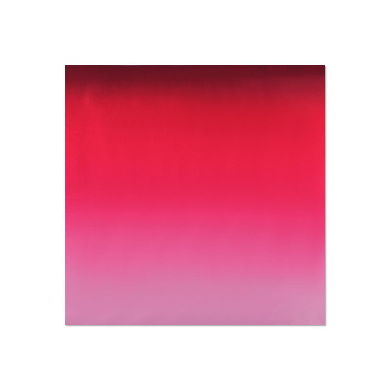 Tessago Fuchsia Pink Gradient Satin Scarf - 35 x 35 inch